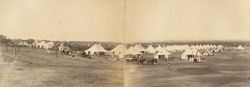 [View of the] Guest Camp [Kolhapur].